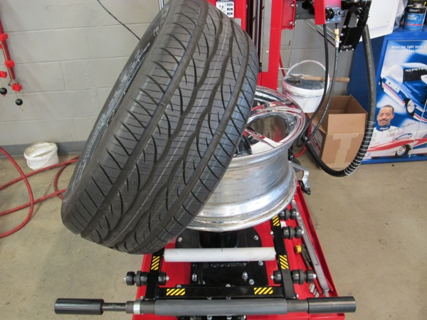 1: make sure the tire size matches the wheel diameter and width. after securing wheel to changing machine, check wheel for damage of any type. also double check to see if the tire has a directional tread.