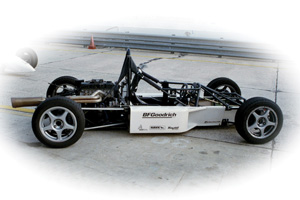 A Skip Barber prepped Formula 2000 car