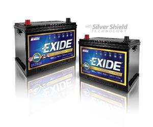 Exide Extreme Batteries