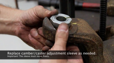 Ford F350 Camber Adjustment