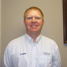 Jeremy Blom, manager, Prostrollo Collision, Huron, S.D.