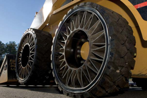 Skid-steer tires can be problematic, but new trends like the Tweel ease these pressures by reducing puncture problems.