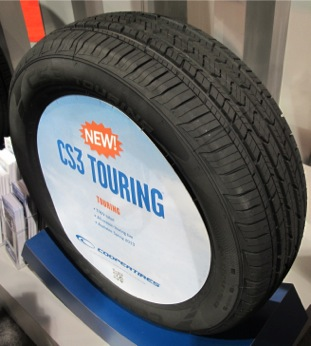 Cooper Shows New Tires Shares R D Goals Tire Review Magazine